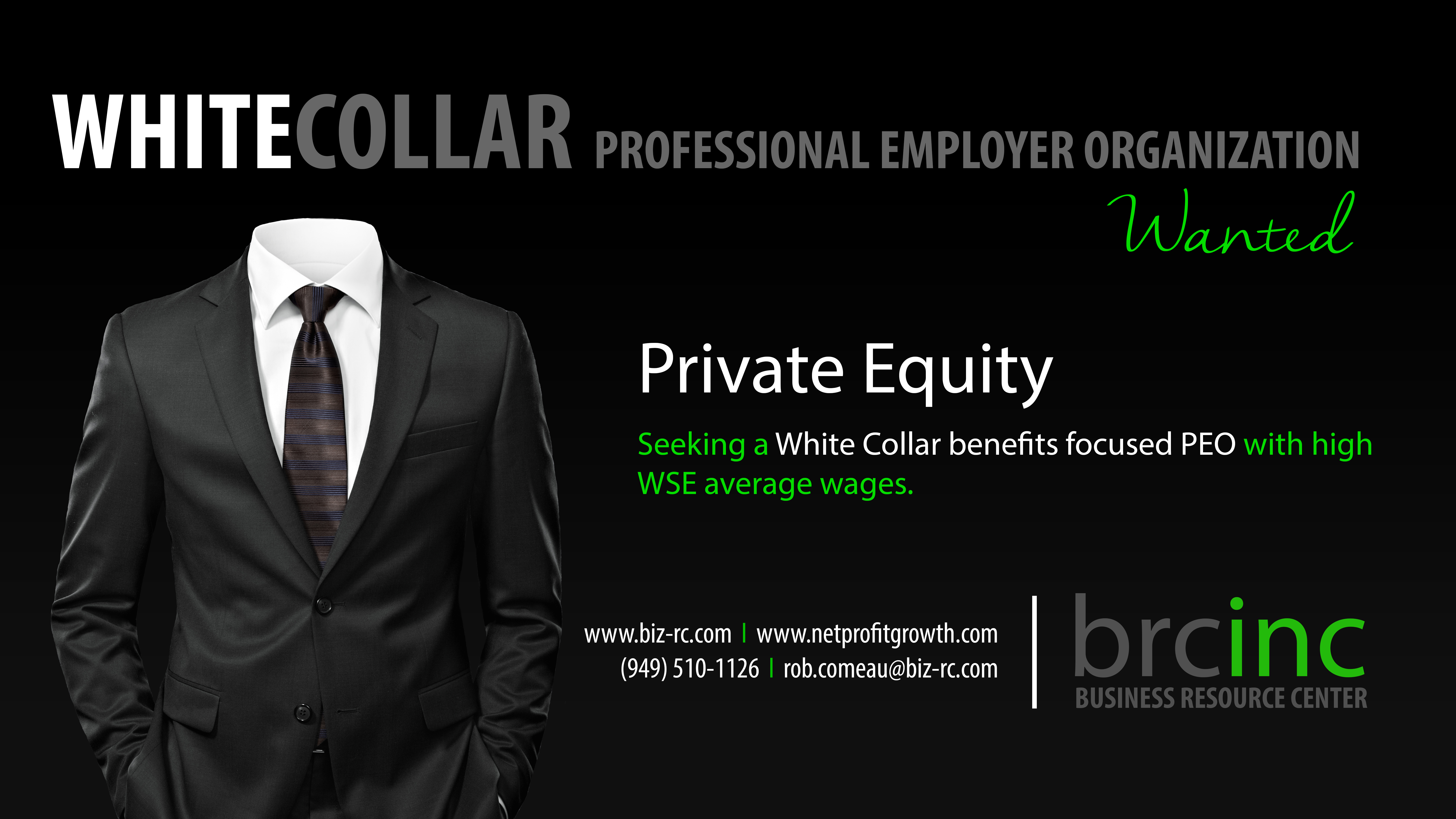 Private Equity PEO Search