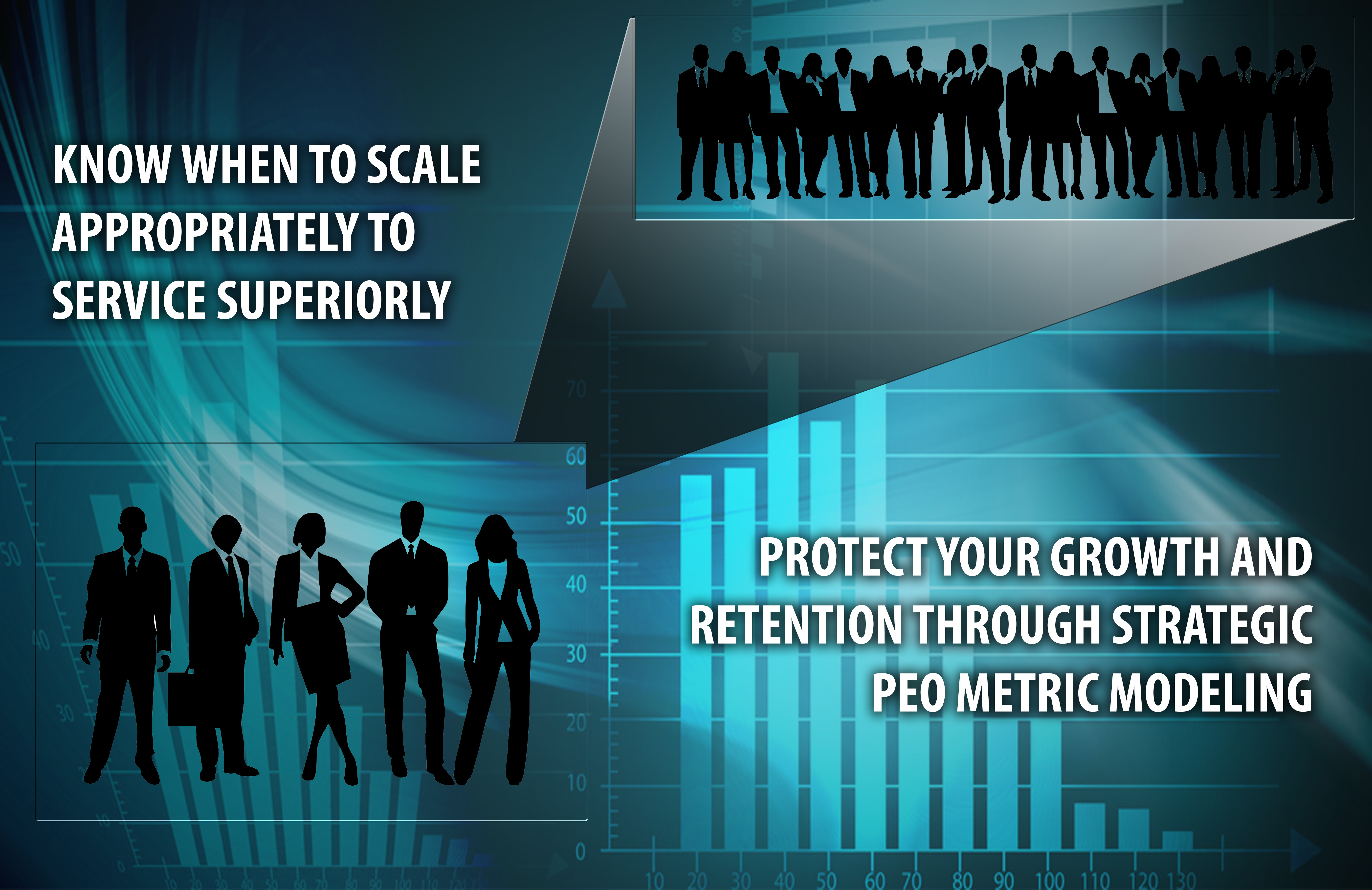 Have a plan with metrics to understand when to scale and overlay that with growth trending to create predictability with your model.